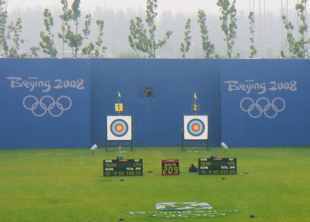 Andrea Rossi Fisioterapia Olimpiadi Pechino FITARCO