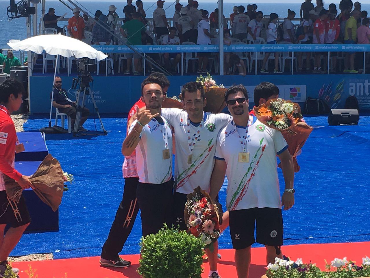 La Nazionale di Tiro con l'arco vince un altro oro alla Word Cup di Antalya 2017 in Turchia