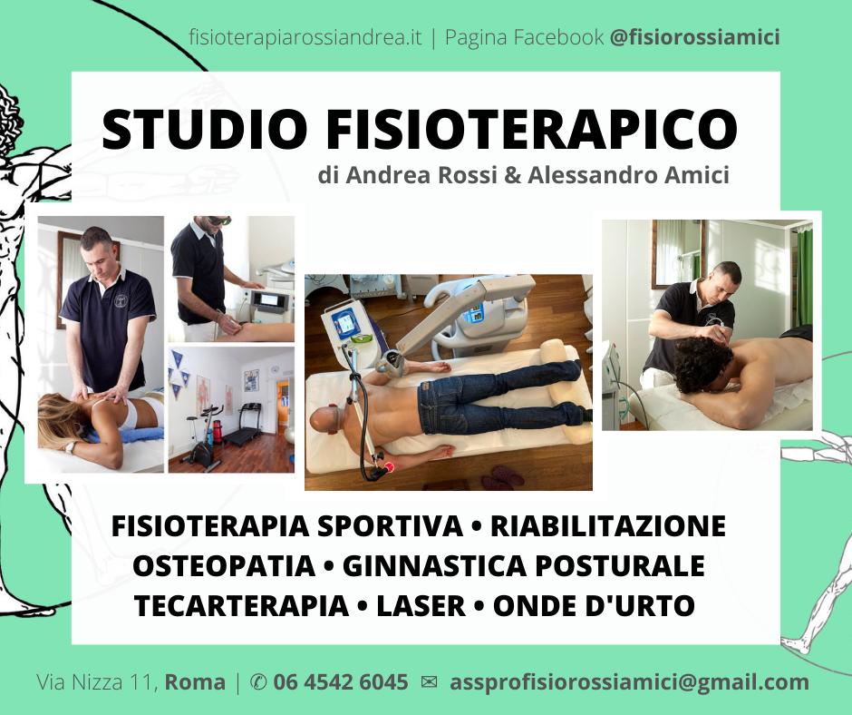 Volantino - Fisioterapista Osteopata Roma Nord
